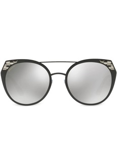 Bvlgari rounded cat-eye sunglasses