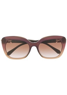 Bvlgari Serpenti enamel crystal sunglasses