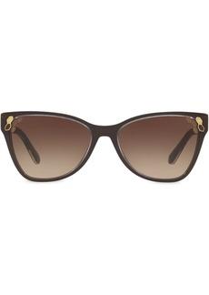Bvlgari Top Transparent cat-eye sunglasses