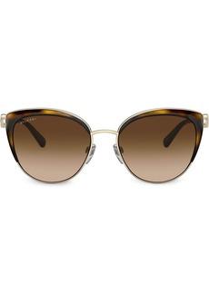 Bvlgari tortoiseshell framed glasses