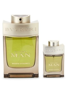 Bvlgari Wood Essence Eau de Parfum Spray 2-Piece Set