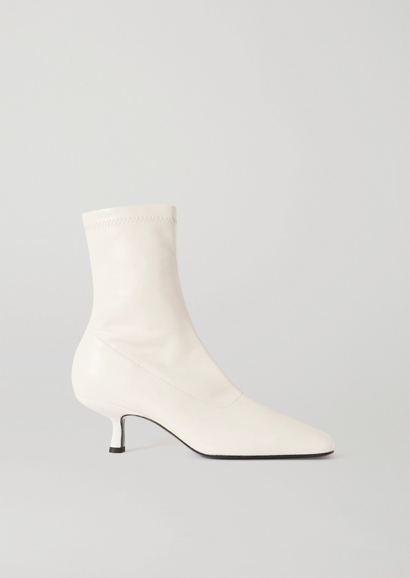 BY FAR Audrey Leather Ankle Boots