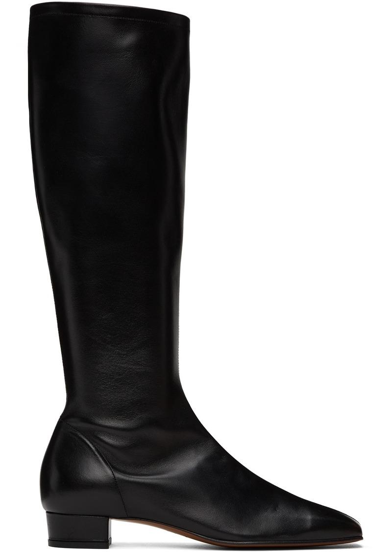 BY FAR Black Edie Tall Boots
