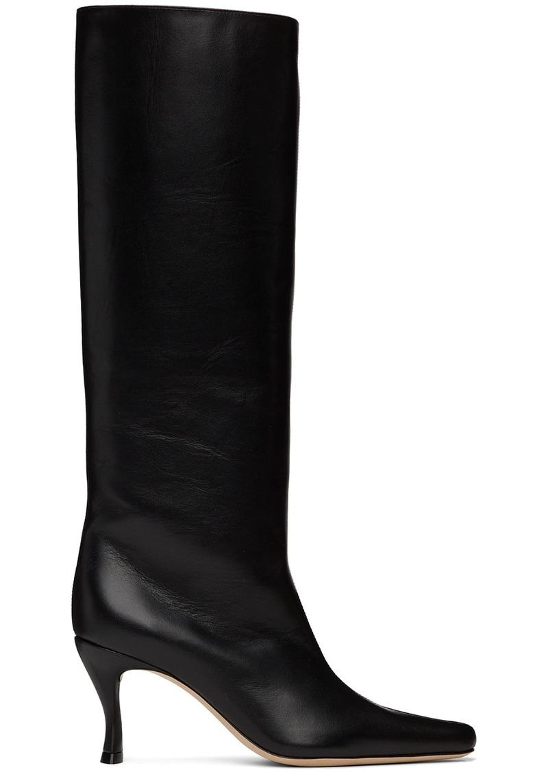 BY FAR Black Stevie 42 Tall Boots