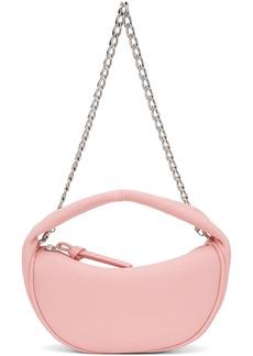 BY FAR Pink Baby Cush Bag