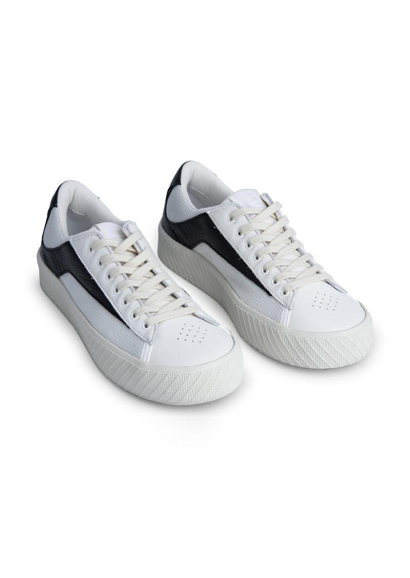 By Far Rodina Mixed Media Platform Sneaker