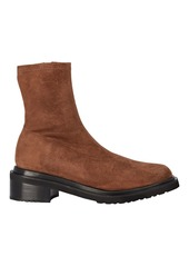 BY FAR Kah Suede Lug Sole Ankle Boots