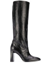 BY FAR knee-length leather boots