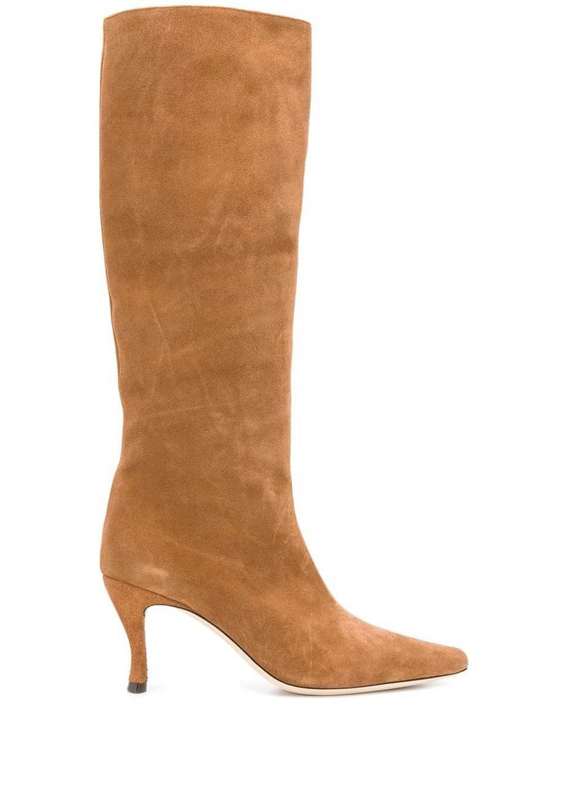 BY FAR knee length pointed boots