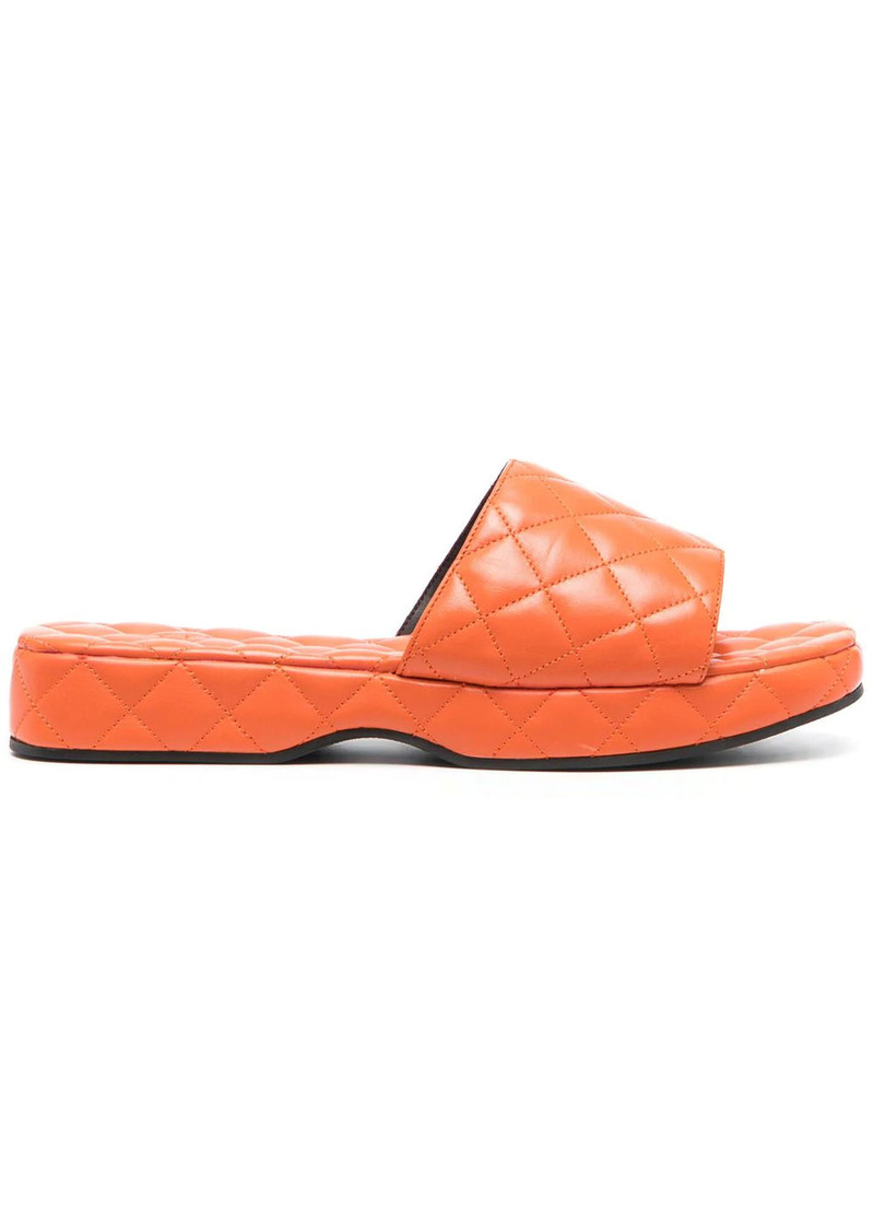 BY FAR Lilo quilted sandals