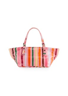 BY FAR Lulu Spray Paint Shoulder Tote Bag
