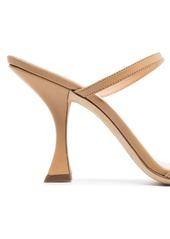 BY FAR Nayla 85mm leather sandals