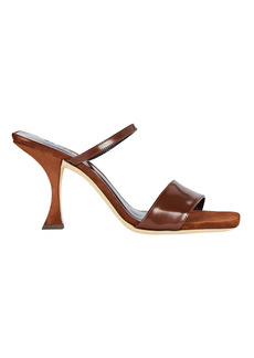 BY FAR Nayla Leather Slide Sandals