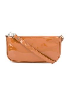 BY FAR Rachel patent tote bag