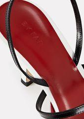 BY FAR Tiffany Slingback Leather Pumps