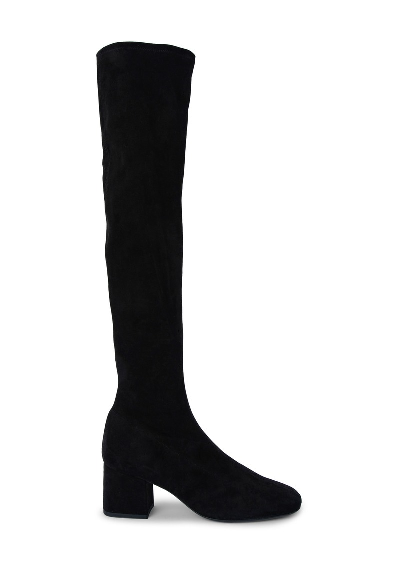 By Far Carlos Over the Knee Stretch Leather Boot