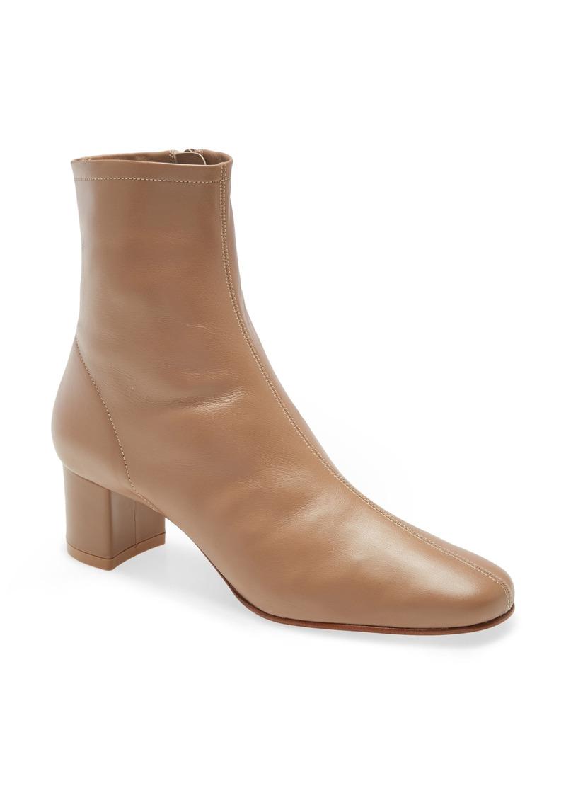 Women's By Far Sofia Block Heel Bootie