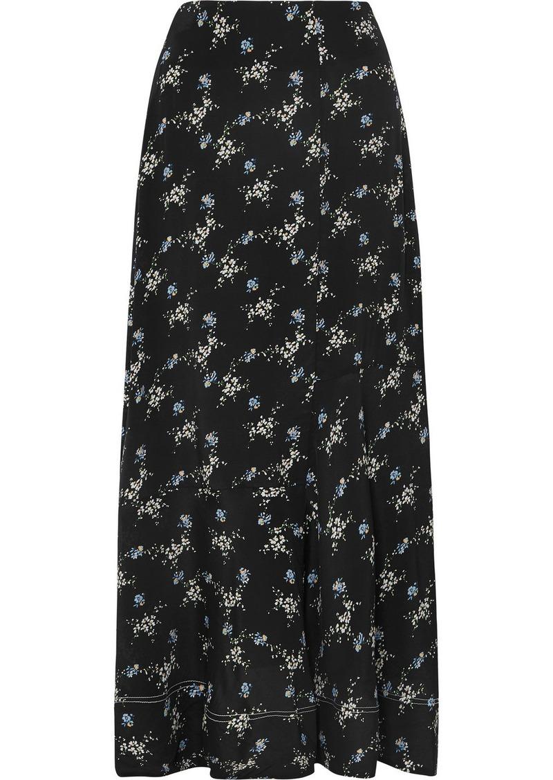 021bd1c6c54 By Malene Birger Aloha Floral-print Crepe De Chine Maxi Skirt | Skirts