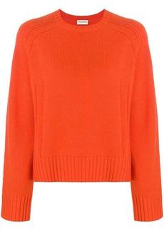 By Malene Birger boxy round neck sweater