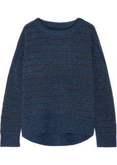 By Malene Birger Andoles metallic striped knitted sweater