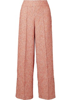 By Malene Birger Celsa Bouclé Wide-leg Pants
