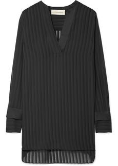 By Malene Birger Cobona striped organza blouse