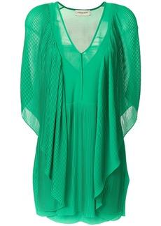 By Malene Birger draped v-neck dress - Green