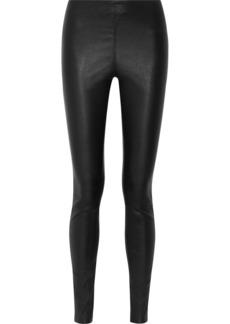 By Malene Birger Elenasoo stretch-leather leggings