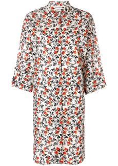 By Malene Birger floral shirt dress - Nude & Neutrals