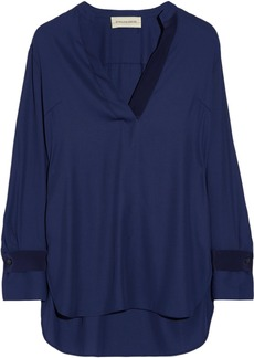 By Malene Birger Gulana stretch-crepe blouse