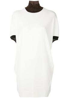 By Malene Birger high neck T-shirt dress - Nude & Neutrals