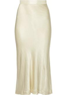 By Malene Birger Kimberley satin midi skirt