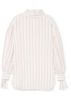 By Malene Birger Salvadorah pinstriped voile blouse