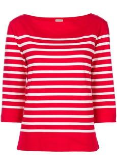 By Malene Birger striped sweatshirt - Red