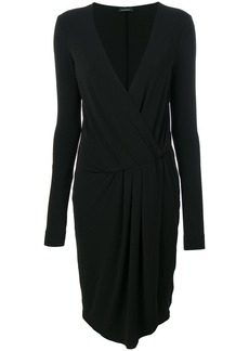 By Malene Birger v-neck dress - Black