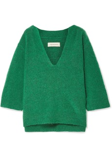 By Malene Birger Wanlay cropped knitted sweater
