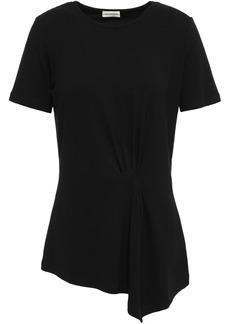 By Malene Birger Woman Asymmetric Knitted Top Black