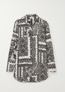 By Malene Birger Cologne Printed Crepe De Chine Shirt