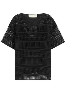 By Malene Birger Cotton Broderie Anglaise Top