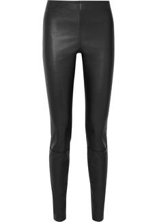 By Malene Birger Elenasoi Stretch-leather Leggings