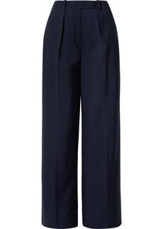 By Malene Birger Enil Wool-blend Wide-leg Pants