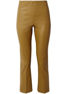 By Malene Birger Florentina Leather Slim-leg Pants
