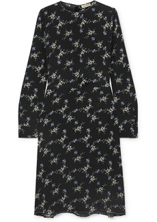 By Malene Birger Garola Floral-print Crepe De Chine Dress