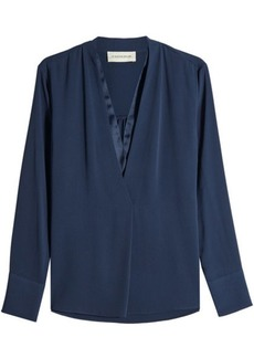 By Malene Birger Lippif Blouse with V-Neckline