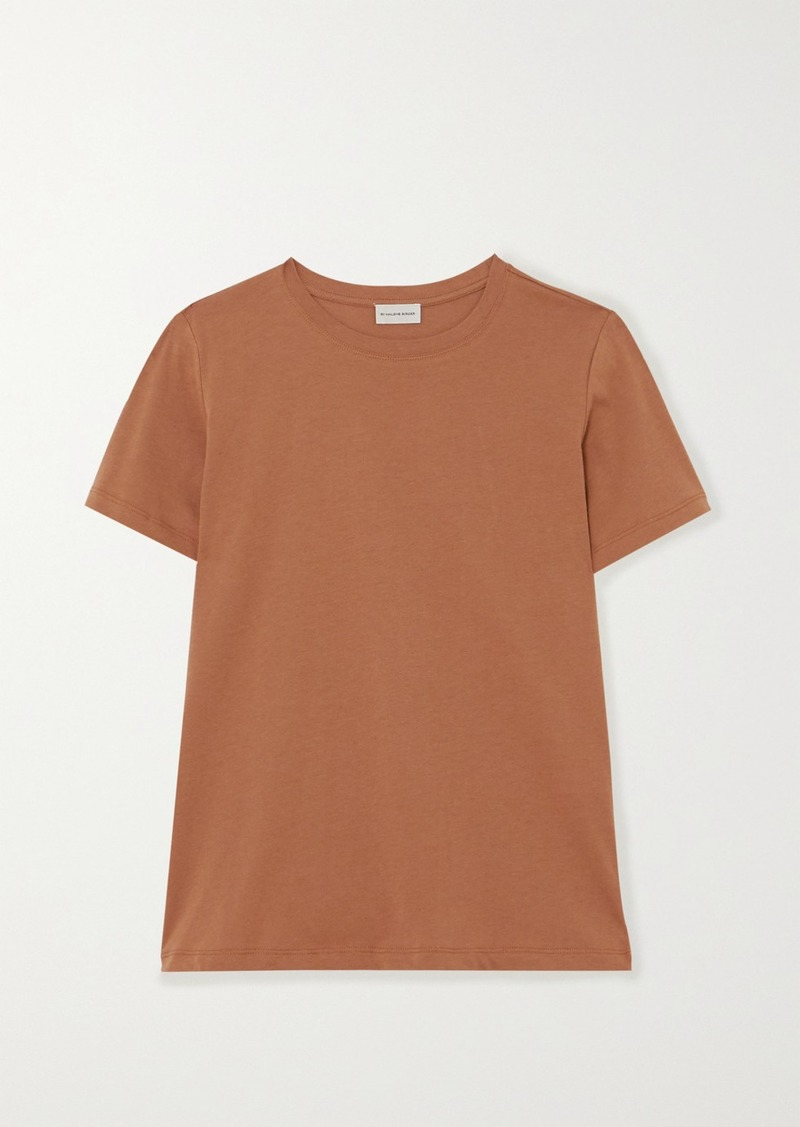 By Malene Birger Net Sustain Boea Organic Cotton-jersey T-shirt