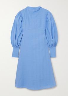 By Malene Birger Net Sustain Fleroya Crinkled-organic Cotton Dress