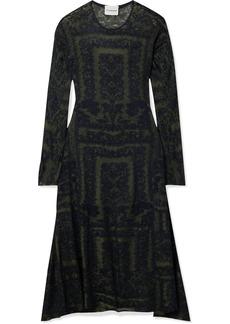 By Malene Birger Onix Jacquard-knit Midi Dress