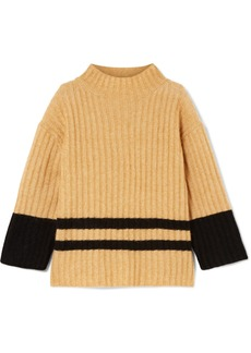 By Malene Birger Paprikana Striped Knitted Sweater