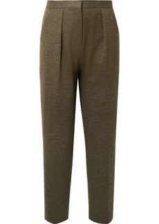 By Malene Birger Pillio Cropped Woven Tapered Pants