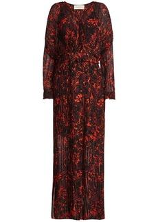 By Malene Birger Printed Chiffon Dress